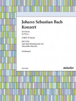 Konzert d-Moll BWV 974Download