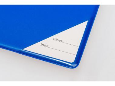 Notenmappe - Blau