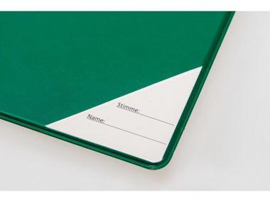 Notenmappe - Grün