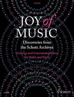 Joy of Music - Discoveries from the Schott ArchivesStandard