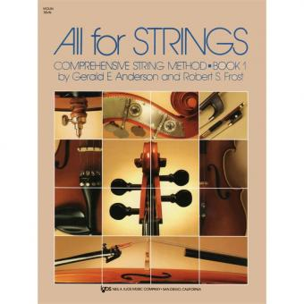 All for Strings Book 1 - Violin