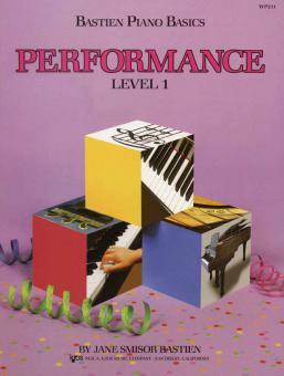 Bastien Piano Basics Level 1: Performance