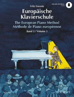 Europäische Klavierschule Band 3
