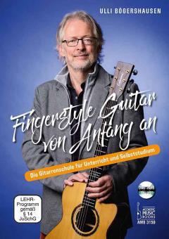Fingerstyle Guitar von Anfang an.