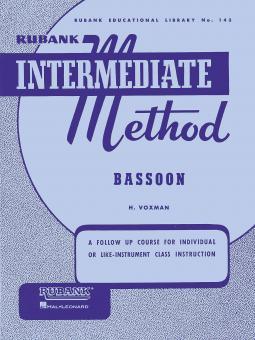 Rubank Intermediate Method Bassoon