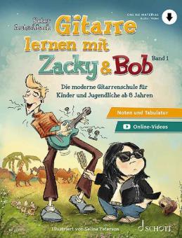 Gitarre lernen mit Zacky & Bob 1