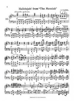 Hallelujah From Messiah Piano Solo