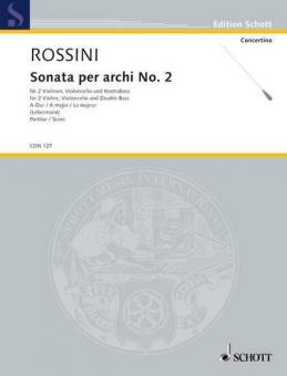 Sonata per archi Nr. 2 A-DurStandard