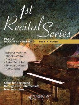 1st Recital Series - for F Horn