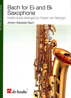 Bach for Eb and Bb Saxophone