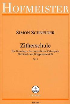 Zitherschule Teil 1