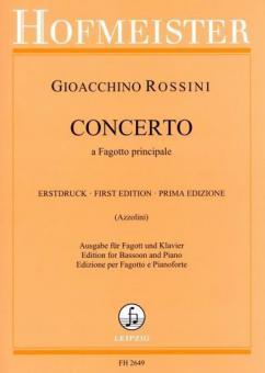 Concerto a Fagotto principale