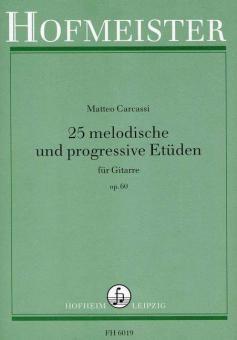 25 melodische und progressive Etüden, op. 60