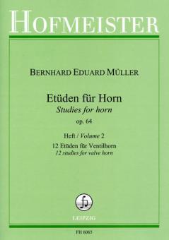 Etüden, op. 64 Heft 2