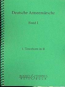 Deutsche Armeemärsche Band 1