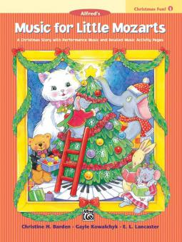 Music For Little Mozarts: Christmas Fun Book 1