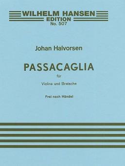 Passacaglia in G Minor for Violin and Viola