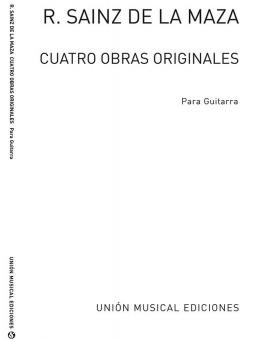 Cuatro Obras Originales For Guitar