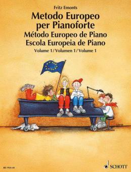 Europäische Klavierschule Band 1