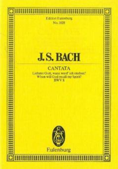 Kantate Nr. 8 (Dominica 16 post Trinitatis)
