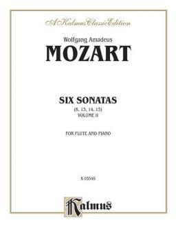 Six Sonatas Vol. 2 (Nos. 4-6) (K. 13, 14, 15)