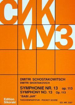 Sinfonie Nr. 13