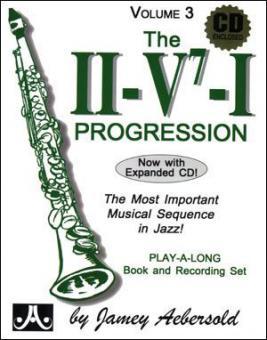 Aebersold Vol.3 II/V7/I Progression