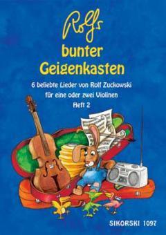 Rolfs bunter Geigenkasten Heft 2