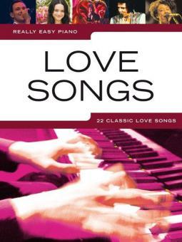 Really Easy Piano: Love Songs