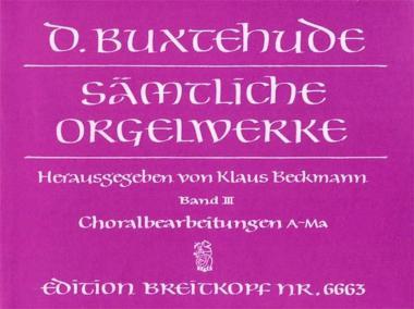 Sämtliche Orgelwerke Band 3
