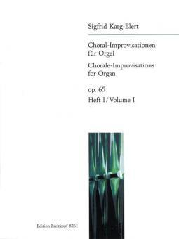 66 Choral-Improvisationen op. 65 Heft 1