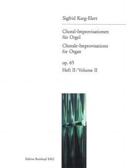 66 Choral-Improvisationen op. 65 Heft 2