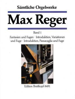 Sämtliche Orgelwerke in 7 Bänden Band 1