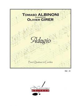 Adagio pour 2 Violons, Alto et Violoncelle