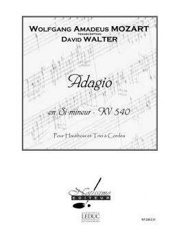 Adagio, KV 540, en Si Mineur