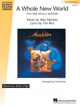 A Whole New World (From Aladdin)