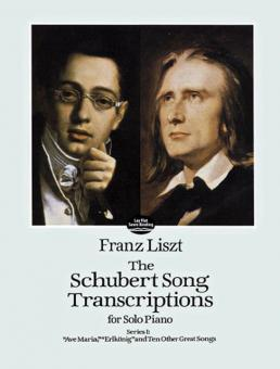 Schubert Song Transcriptions for Solo Piano Series 1