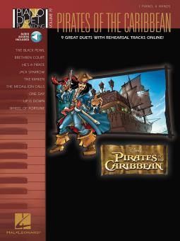 Piano Duet Play-Along Vol. 19: Pirates Of The Caribbean