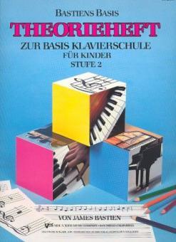 Basis Klavierschule für Kinder Stufe 2 - Theorieheft