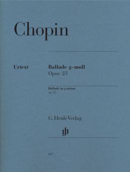 Ballade g-moll op. 23