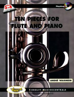 Ten Pieces for Flute and Piano + CD