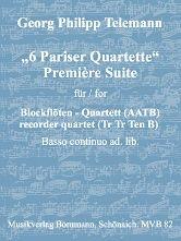 1. Suite aus 'Pariser Quartette'