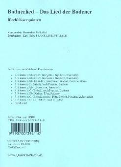 Badnerlied - Das Lied der BadnerStandard