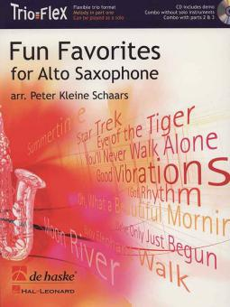 Fun Favorites for Alto Saxophone