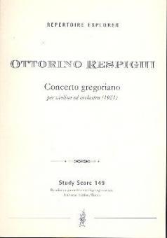 Concerto gregoriano für Violine und Orchester