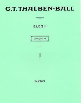Elegy for Organ