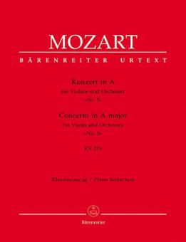 Konzert Nr. 5 A-Dur KV 219