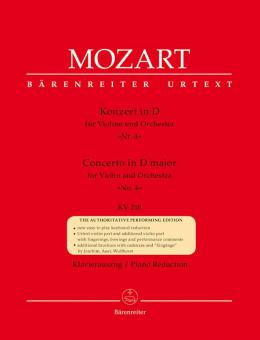 Konzert Nr. 4 D-Dur KV 218