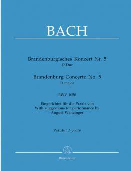 Brandenburgisches Konzert Nr. 5 D-Dur BWV 1050