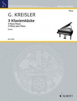 Drei KlavierstückeStandard